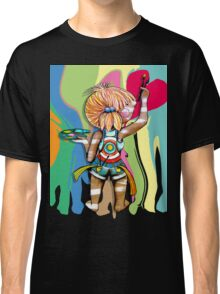 Art Chick Paint Shirt Classic T-Shirt