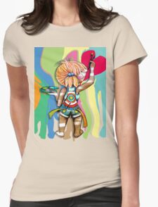 Art Chick Paint Shirt Womens Fitted T-Shirt
