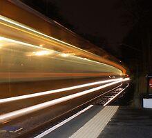 Oncoming Train by RailstonArtwork