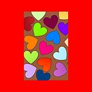Hearts Hearts Hearts by 'Chillee Wilson' by ChilleeWilson