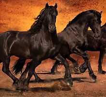 Thundering Hooves by Jean Hildebrant