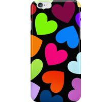Hearts Hearts Hearts by 'Chillee Wilson' iPhone Case/Skin