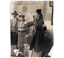 Miss Lola Lamour sings 1940s songs Poster