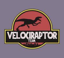 velociraptor team Kids Clothes