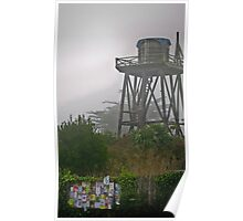 water towers of mendocino [4] Poster