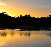 Sundown Beckys Lagoon by Jackie  Smith