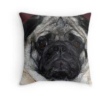My Pug Throw Pillow