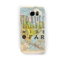Travel Wide & Far - North America Samsung Galaxy Case/Skin