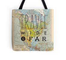 Travel Wide & Far - North America Tote Bag