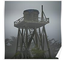 water towers of mendocino [1] Poster