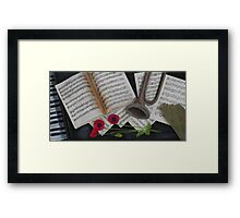 Last Post Framed Print