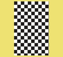 Mod Checkered Two Tone by 'Chillee Wilson'  Baby Tee