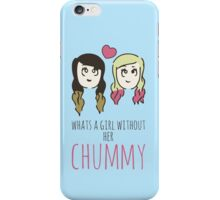 What's A Girl Without Her Chummy - Zoella & Spinkle of Glitter iPhone Case/Skin