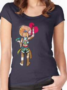 Art Chick Women's Fitted Scoop T-Shirt