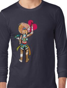 Art Chick Long Sleeve T-Shirt