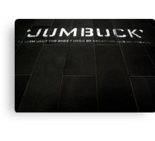 """""""Jumbuck"""" Canvas Print"""