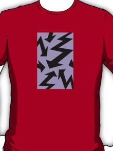 Retro 80's Lightning Arrow by 'Chillee Wilson'  T-Shirt