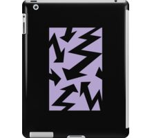 Retro 80's Lightning Arrow by 'Chillee Wilson'  iPad Case/Skin