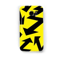 Retro 80's Lightning Arrow by 'Chillee Wilson'  Samsung Galaxy Case/Skin