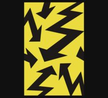 Retro 80's Lightning Arrow by 'Chillee Wilson'  Kids Clothes