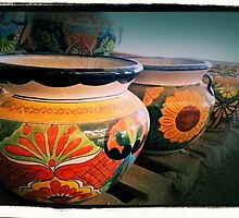 Mexican Pots by tvlgoddess
