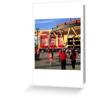 Angels Baseball #2 Greeting Card