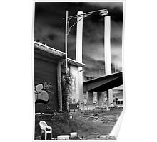 Bolte Bridge over shed 21 Poster