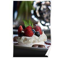 'Valentine'...  Dessert Poster