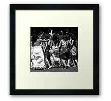 Party Party Party Framed Print