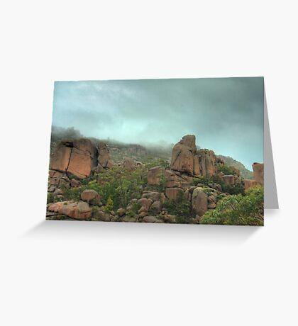 Natural sculptures  Greeting Card