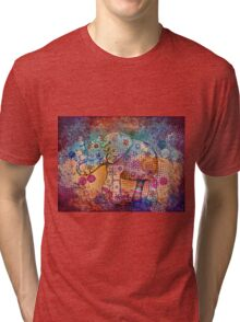 indie elephant Tri-blend T-Shirt