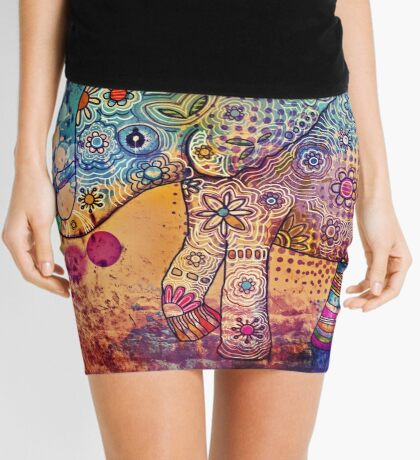 indie elephant Mini Skirt