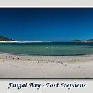 Fingal Bay - Port Stephens by Michael Howard