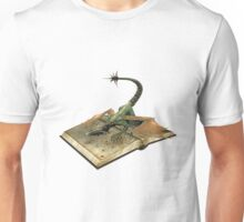 mystical book of dragons Unisex T-Shirt