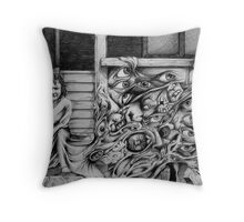 Birth, Life and Death Throw Pillow