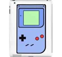 Blue Vintage Gameboy series iPad Case/Skin