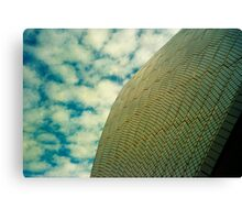 Opera House Tiles and Sky Canvas Print