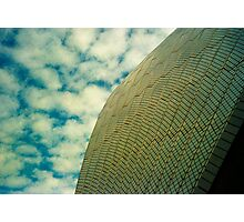 Opera House Tiles and Sky Photographic Print