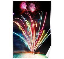 City of Bunbury Fireworks Poster