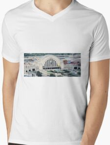 Union Terminal Mens V-Neck T-Shirt