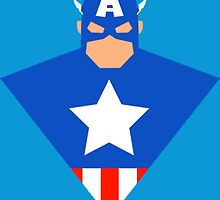 Captain America Cartoon by AvatarSkyBison