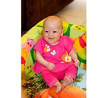 Happy Girl Photographic Print