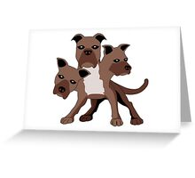 Cerberus Greeting Card