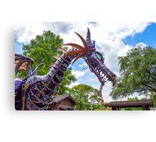 Maleficent Dragon from the Festival of Fantasy Parade at the Magic Kingdom, Walt Disney World Canvas Print