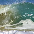 Wave up close by Kerry  Hill