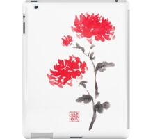 Royal pair sumi-e painting iPad Case/Skin
