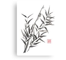 No doubt bamboo sumi-e painting Metal Print
