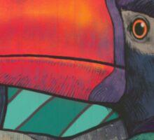 Toucan Graffiti Sticker