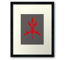 Luvia Command Seal Framed Print