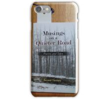 Berard - Musing on a Quieter Road iPhone Case/Skin
